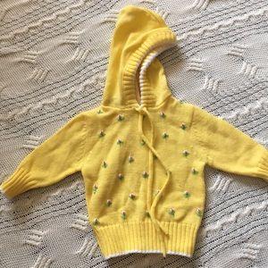 Little girl's Vintage Izod Sweater